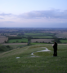 Amy-Funderburk-sketching-at-Uffington_copyright-James-C.-Williams-2008-All-Rights-Reserved.jpg