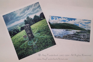 Available Giclee Reproductions Left: Manifestation of Rabbit, © 2007 Amy Funderburk, All Rights Reserved Right: Lakes of Killarney (Michael's View), © 2008-09 Amy Funderburk, All Rights Reserved