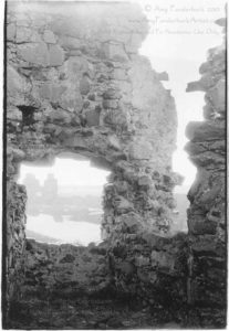"Dunluce Castle - Ruin View silver gelatin print 5"" x 7"", 2001 North Antrim Coast, Co. Antrim, Northern Ireland © Amy Funderburk 2001"