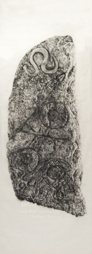 Fictitious Pictish Standing Stone, in progress
