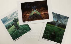 Greeting Cards, Images of the Otherworld.