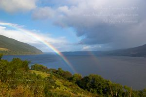 Double Rainbow Over Loch Ness