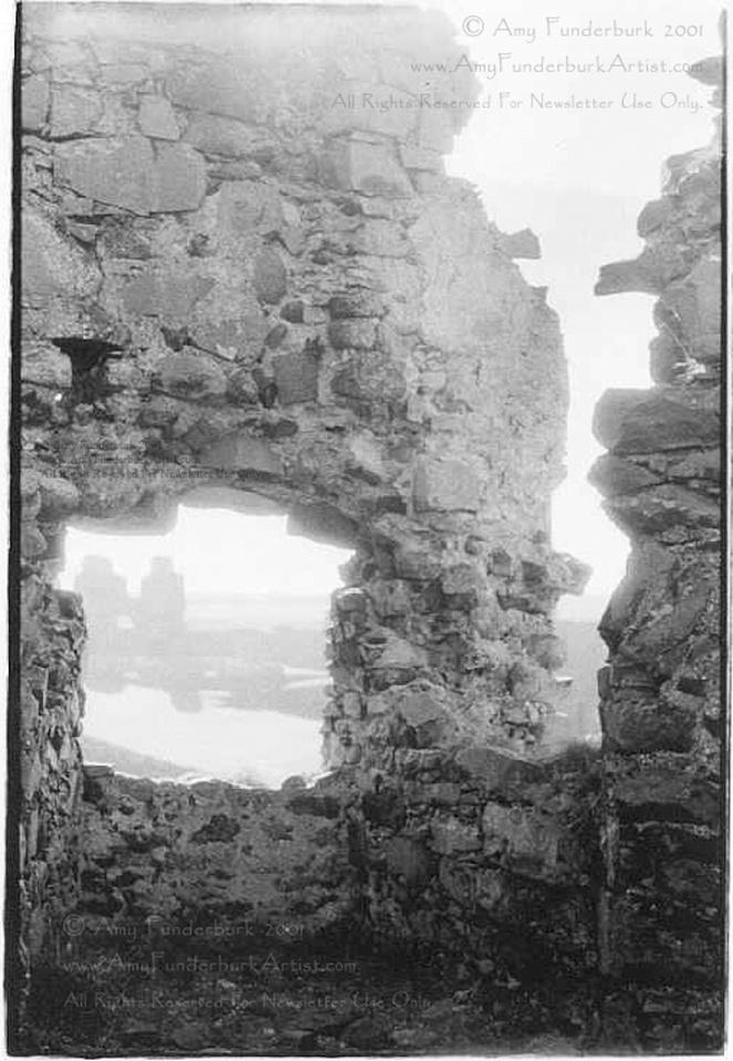Dunluce Castle - Ruin View
