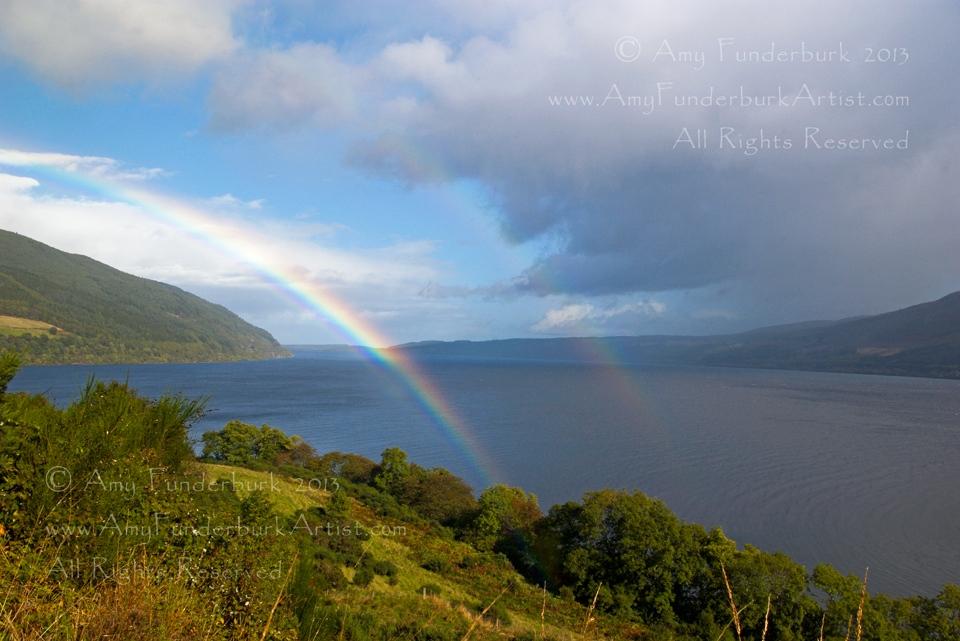 Double Rainbow Over Loch Ness